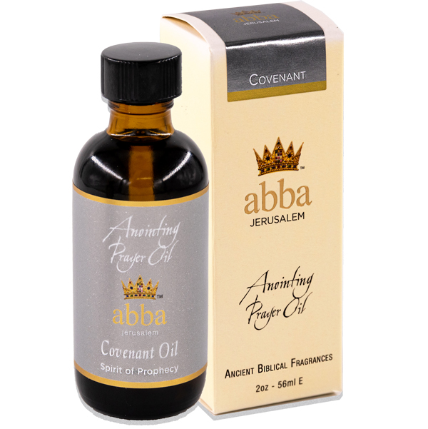 NEW BOX - 2 oz Covenant Anointing  Prayer Oil