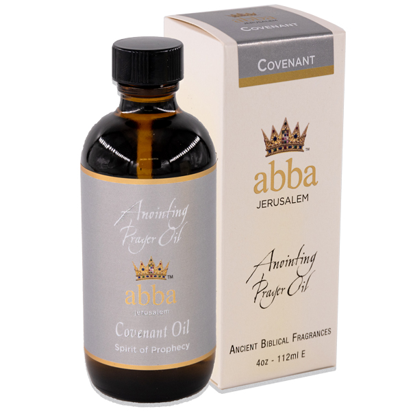 NEW BOX - 4 oz Covenant Anointing Prayer Oil