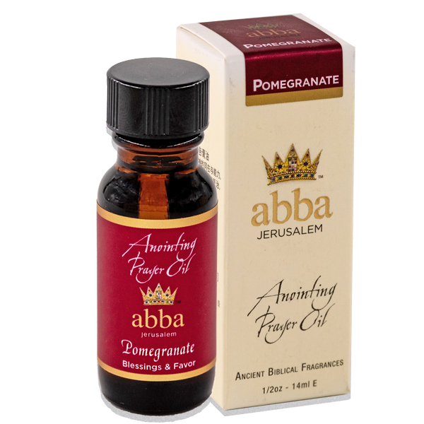 New Fragrance! 1/2 oz Pomegranate Anointing Prayer Oil