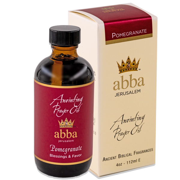 New Fragrance! 4 oz Pomegranate Anointing Prayer Oil