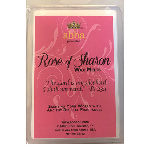 WHITE - ROSE OF SHARON WAX MELTS
