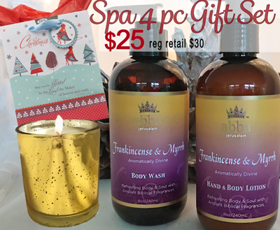 Frankincense & Myrrh Bath & Spa Gift Set