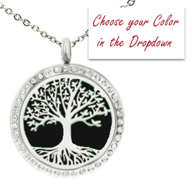 DIFFUSER PENDANT - ROOTED TREE OF LIFE