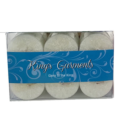 KING'S GARMENTS TEALIGHTS - 12 PK