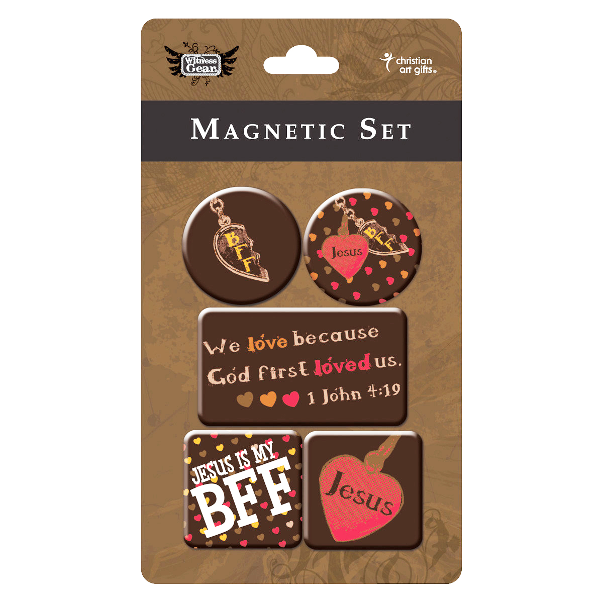 """JESUS"" 5pc MAGNET SET - 50% OFF"