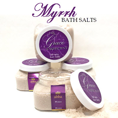MYRRH BATH SALTS - 8 OZ