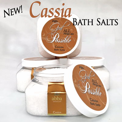 CASSIA BATH SALTS - 8 OZ