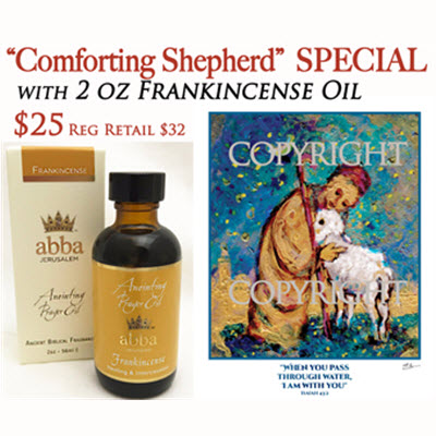 FRANKINCENSE 2 oz ANOINTING OIL W/WHEN YOU PASS PRINT-SAVE $7