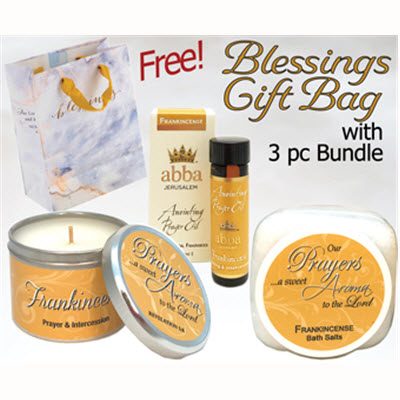 FRANKINCENSE 3 PC BUNDLE w/FREE BLESSINGS GIFT BAG