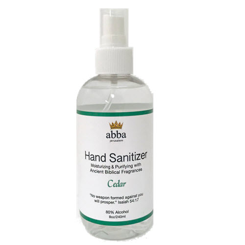 CEDAR HAND SANITIZER, 8 oz