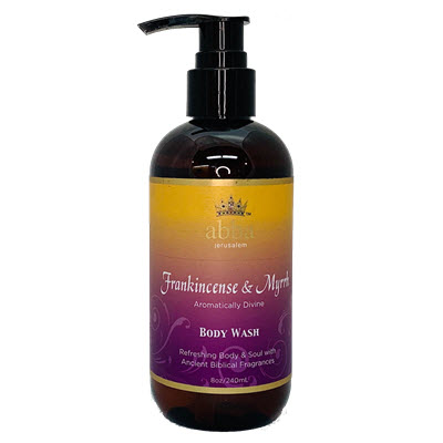 Frankincense & Myrrh Body Wash w/Pump 8oz