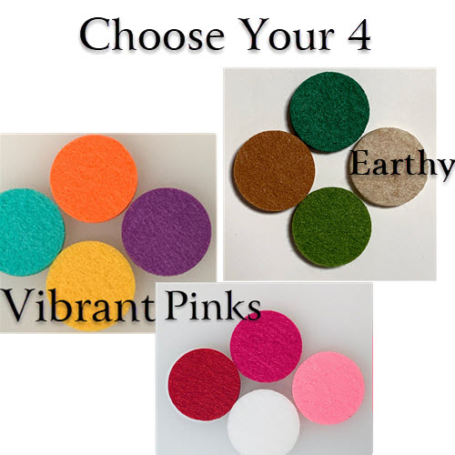 4 - Felt for Aroma Pendant (Choose Your Set)