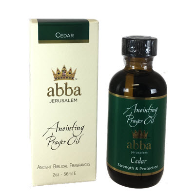 2 oz Cedar Anointing Prayer Oil