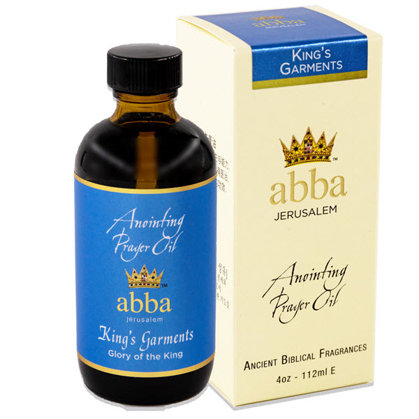 4 oz King's Garments Anointing  Prayer Oil