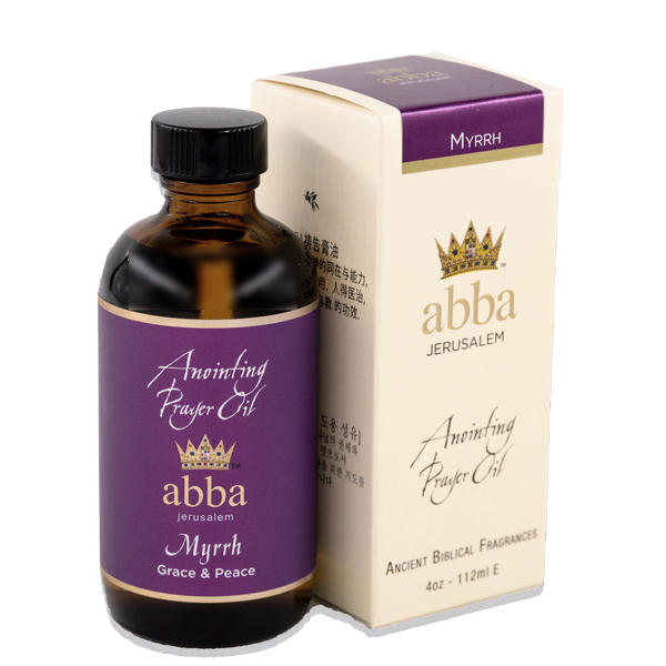 4 oz Myrrh Anointing Prayer Oil
