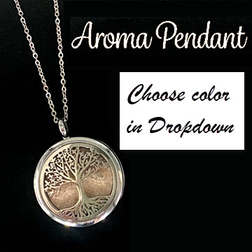 DIFFUSER PENDANT - SMOOTH ROOTED TREE OF LIFE