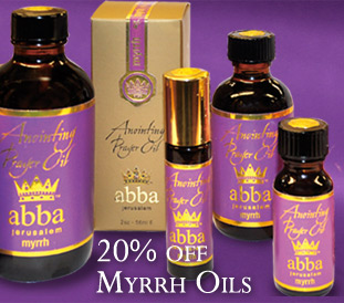 20% OFF Myrrh Anointing Oil