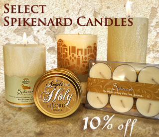 SAVE 10% SPIKENARD CANDLES