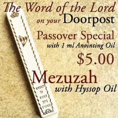 MEZUZAH & OIL ONLY $5